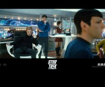 Battle Meeting Star Trek 2009 Wallpaper