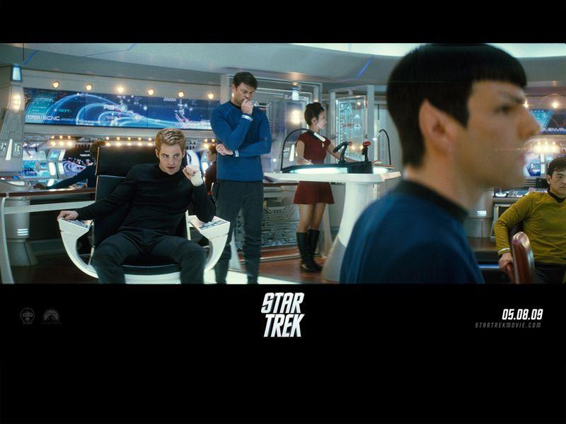Battle Meeting Star Trek 2009 Wallpaper 800x600