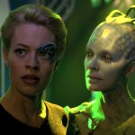 Borg Queen And Seven Of Nine Wallpaper