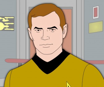 Captain James Kirk Wallpaper