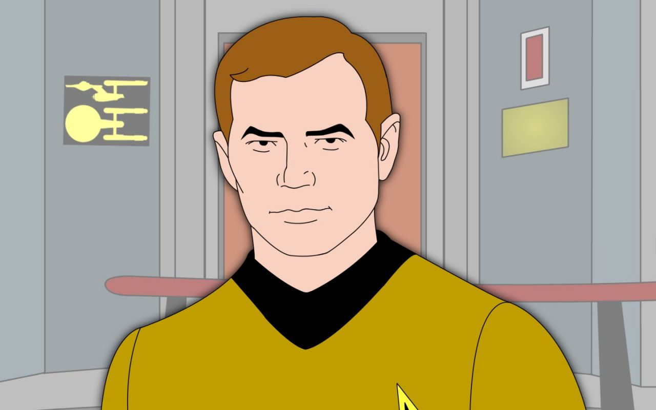 Captain James Kirk Wallpaper 1280x800