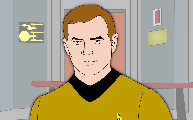 Captain James Kirk Wallpaper 1440x900
