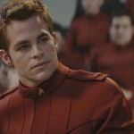 Chris Pine As James Kirk Wallpaper