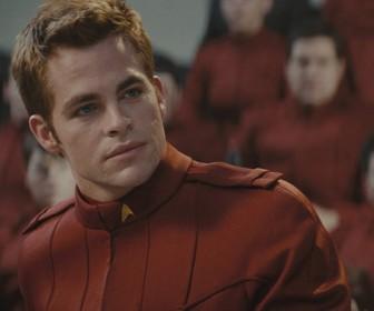 Chris Pine As James Kirk Wallpaper