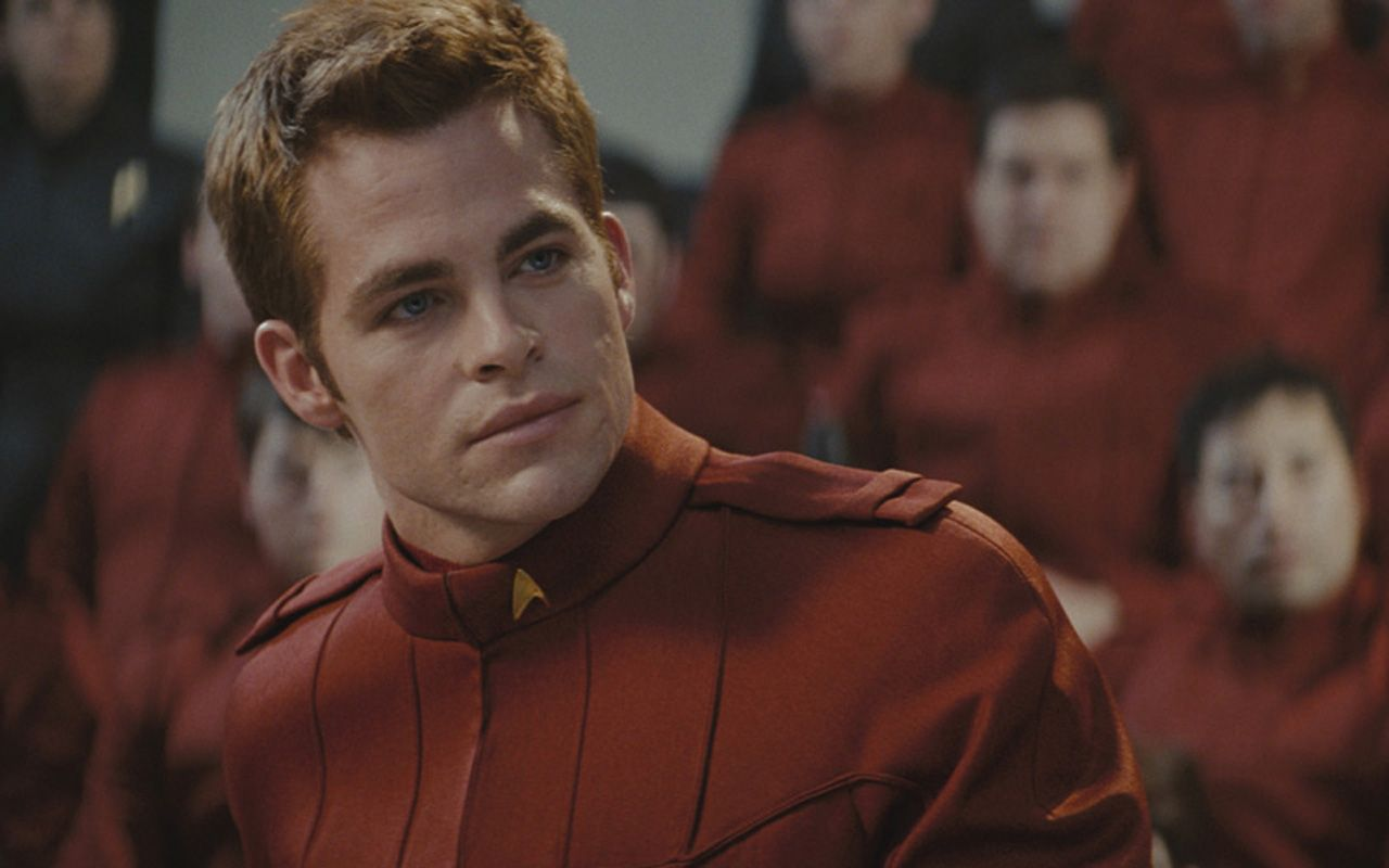 Chris Pine As James Kirk Wallpaper 1280x800