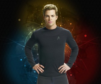 Chris Pine Star Trek 2009 Wallpaper