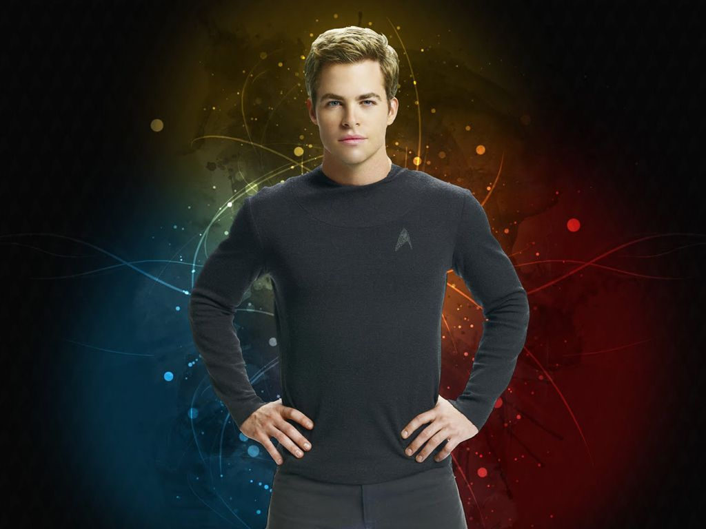 Chris Pine Star Trek 2009 Wallpaper 1024x768