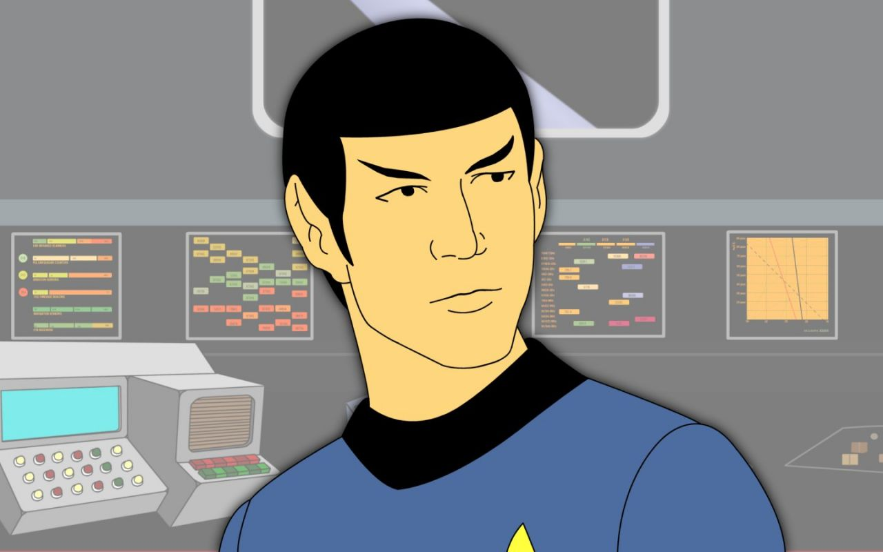 Commander Spock Wallpaper 1280x800