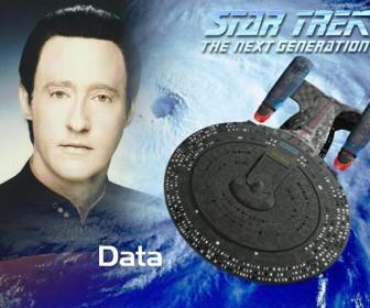 Data Star Trek The Next Generation Wallpaper