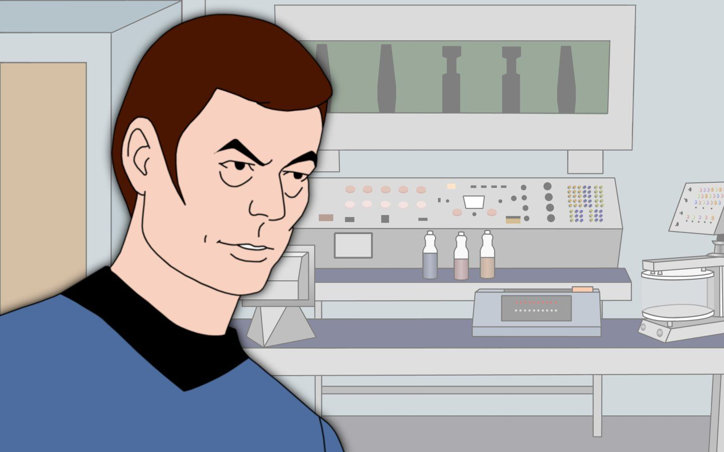 Doctor Leonard Mccoy Wallpaper 1440x900