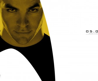 James Kirk Star Trek 2009 Wallpaper