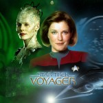 Kate Mulgrew As Captain Janeway Wallpaper