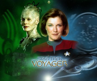 Kate Mulgrew As Captain Janeway Wallpaper