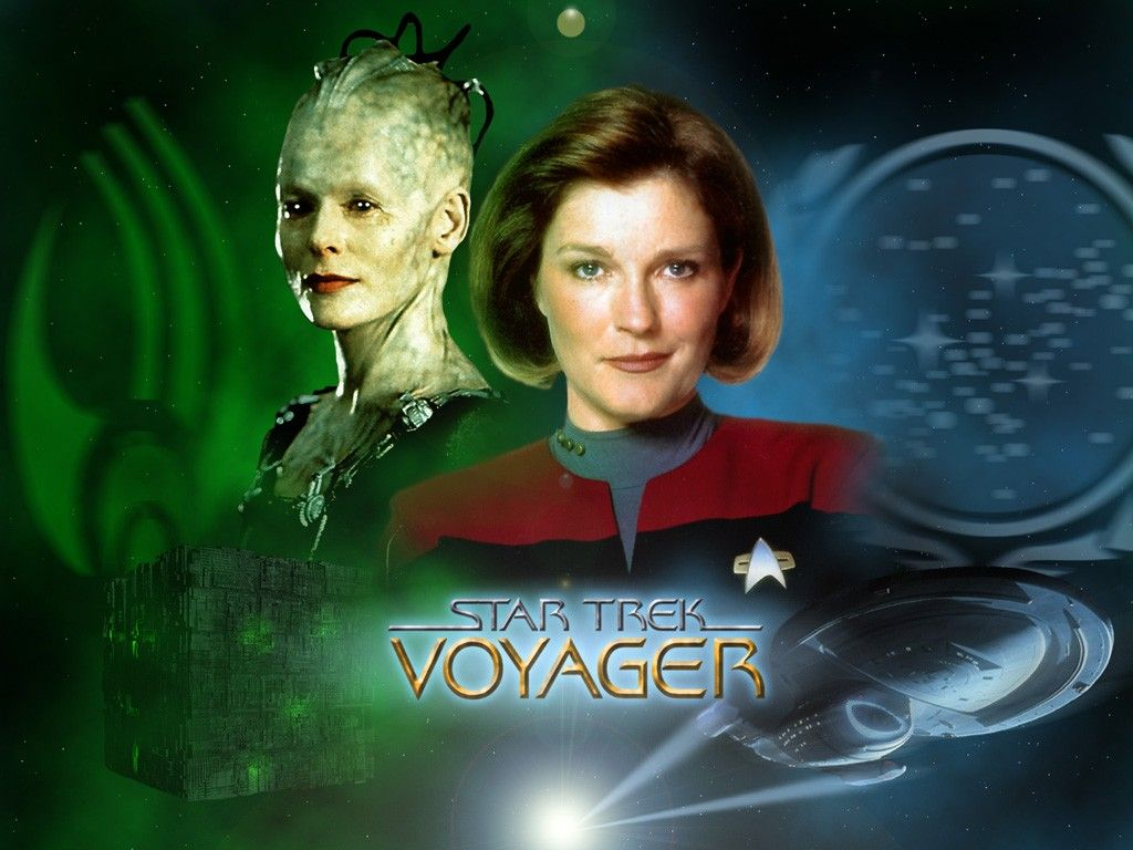 Kate Mulgrew As Captain Janeway Wallpaper 1024x768