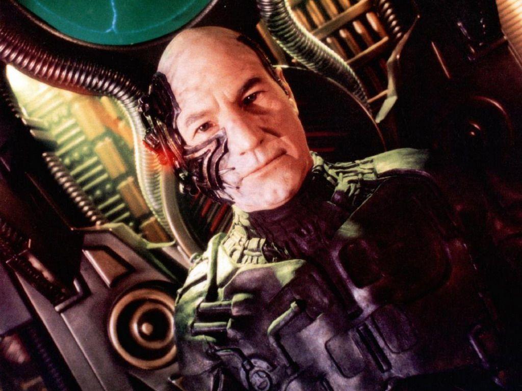 Patrick Stewart As Jean Luc Picard Wallpaper 1024x768