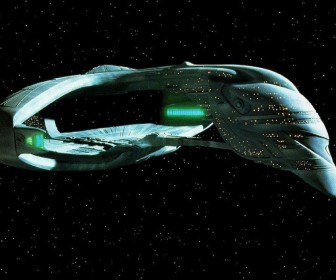 Romulan Starship The Next Generation Wallpaper