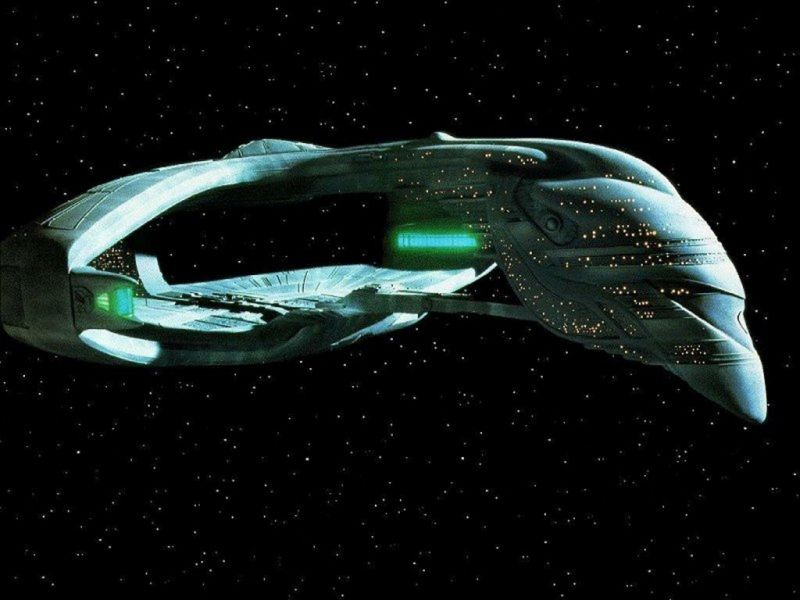 Romulan Starship The Next Generation Wallpaper 800x600