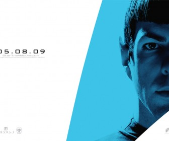 Spock Star Trek 2009 Poster Wallpaper