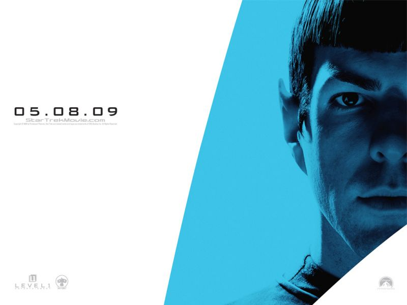 Spock Star Trek 2009 Poster Wallpaper 800x600