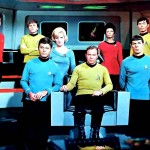 Star Trek Original Series Cast Wallpaper