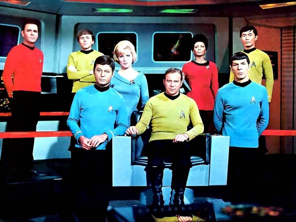 Star Trek Original Series Cast Wallpaper 1024x768