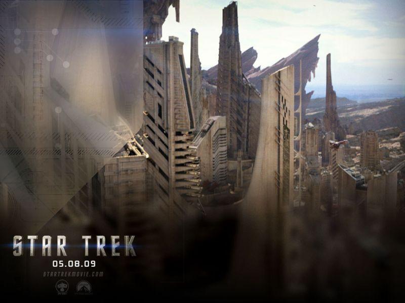 Star Trek 2009 Buildings Poster Wallpaper 800x600