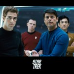 Star Trek 2009 Cast Poster Wallpaper