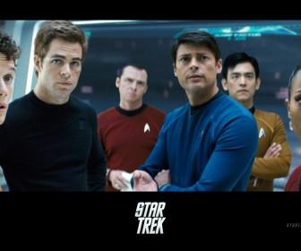 Star Trek 2009 Cast Poster Wallpaper