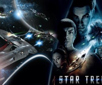 Star Trek 2009 Collage Wallpaper