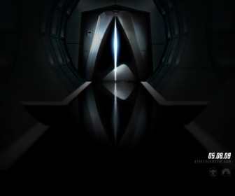 Star Trek 2009 Door Poster Wallpaper