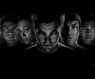 Star Trek 2009 Faces Wallpaper