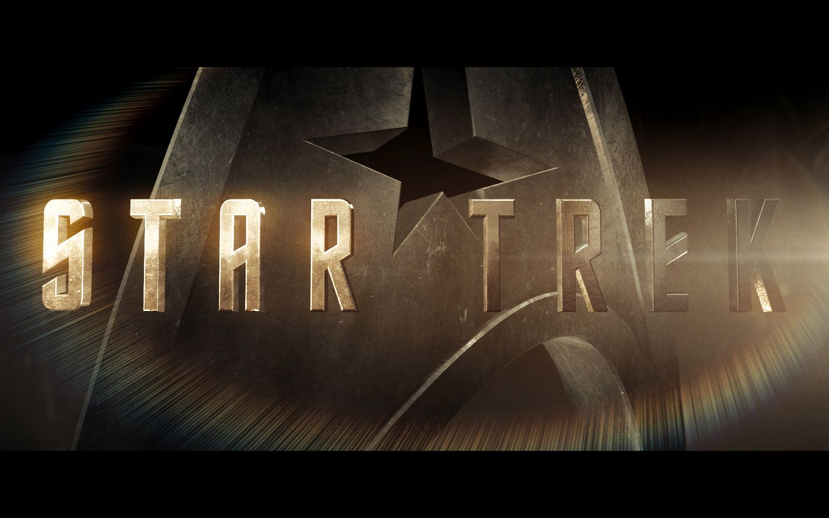 Star Trek 2009 Title Logo Wallpaper 1680x1050