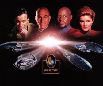 Star Trek 30 Years Poster Wallpaper
