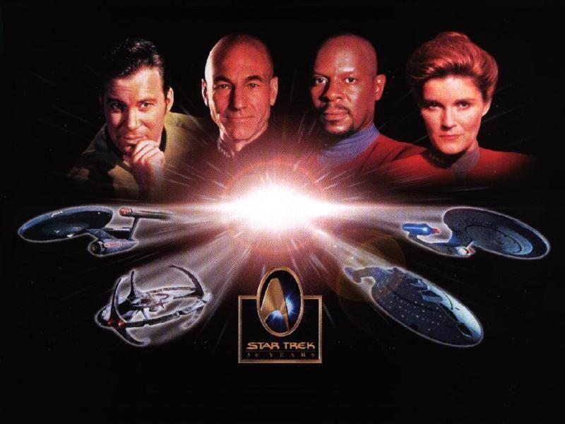 Star Trek 30 Years Poster Wallpaper 800x600