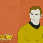 Star Trek Animated Series Captain Kirk Wallpaper