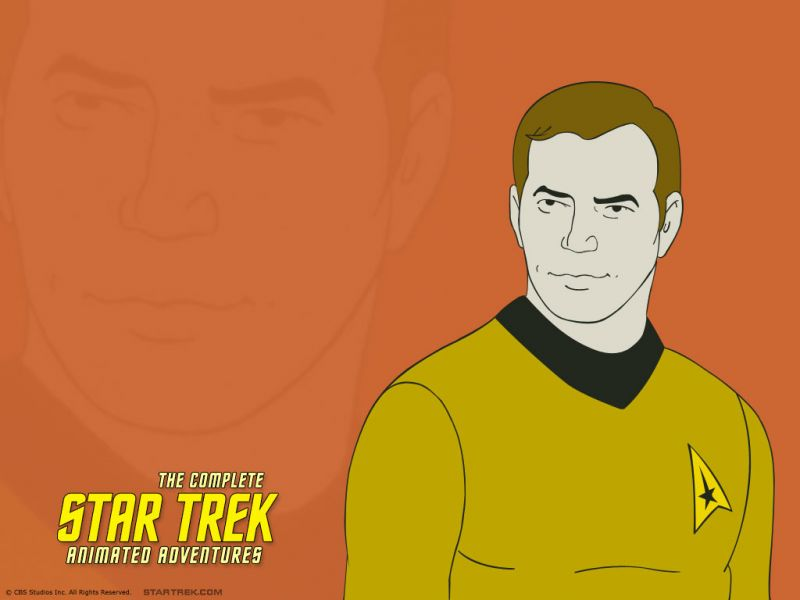 Star Trek Animated Series Captain Kirk Wallpaper 800x600