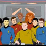 Star Trek Animated Series Cast Wallpaper