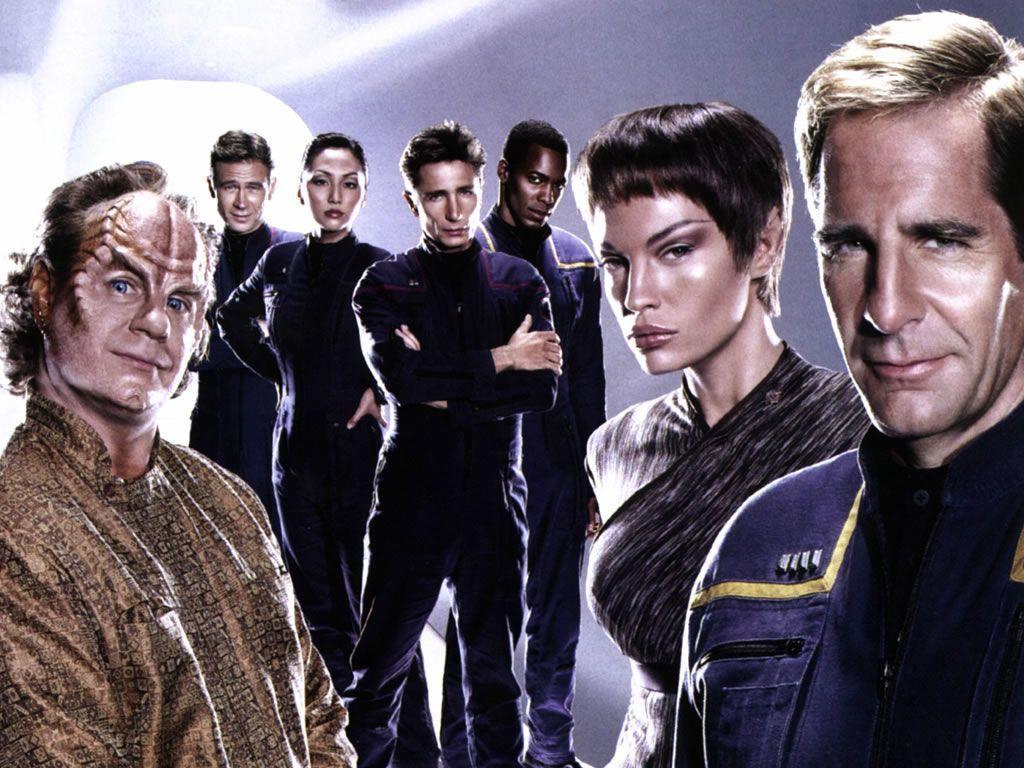 Star Trek Enterprise Cast Wallpaper 1024x768