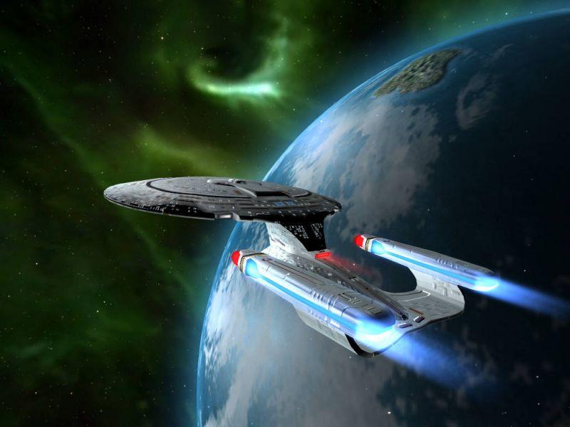 Star Trek Enterprise Earth Background Wallpaper 800x600