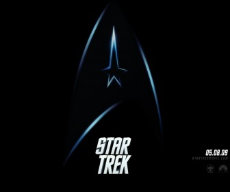 Star Trek Logo Movie Poster Wallpaper