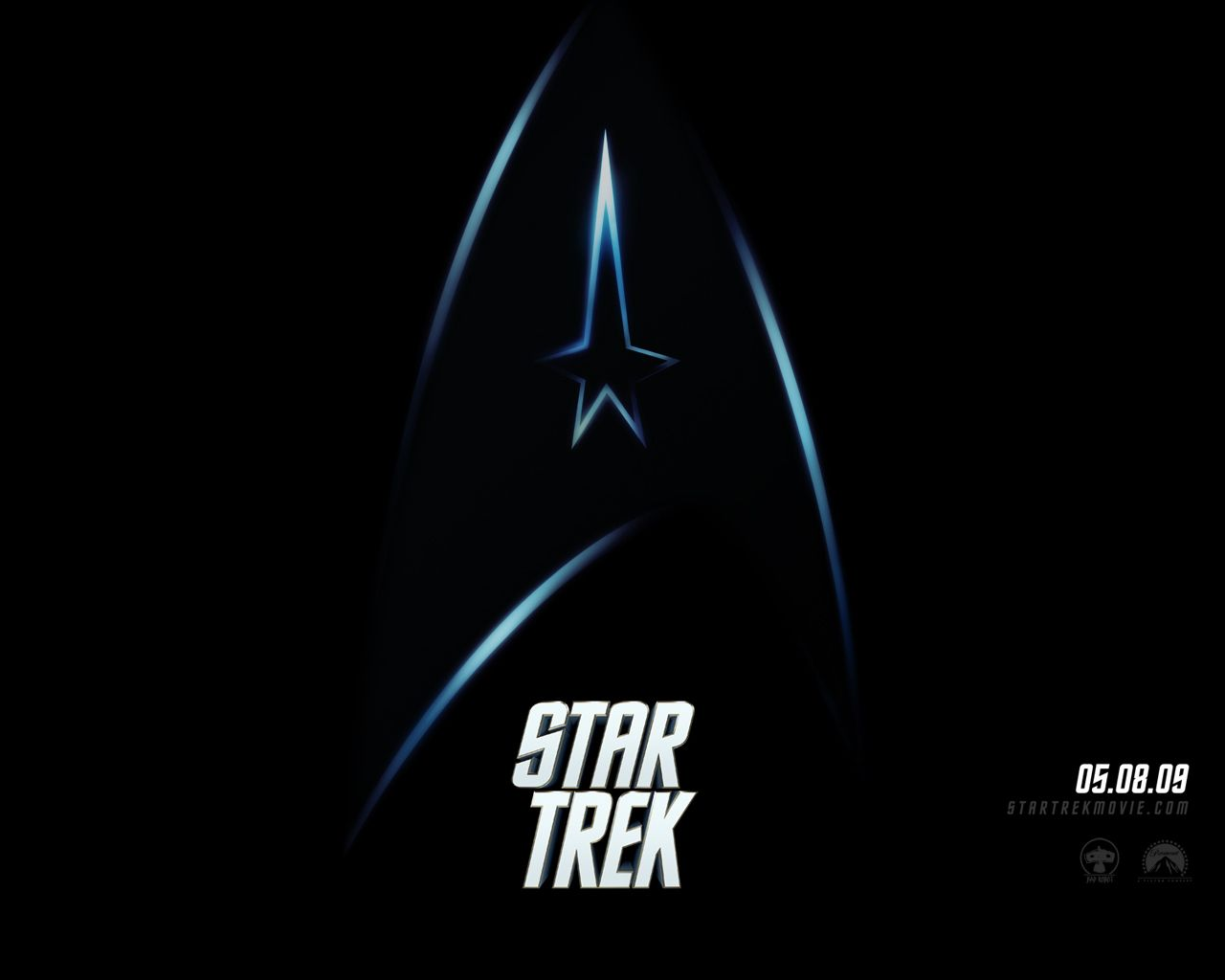 Star Trek Logo Movie Poster Wallpaper 1280x1024