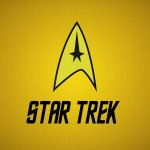Star Trek Logo Yellow Wallpaper