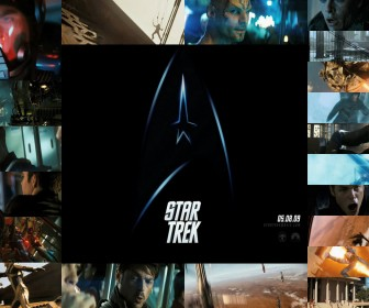 Star Trek Movie Screenshots Collage Wallpaper