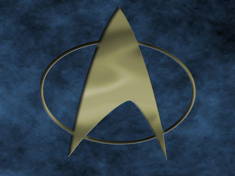 Star Trek The Next Generation Logo Engraved Wallpaper 800x600