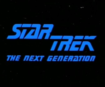 Star Trek The Next Generation Screen Title Wallpaper