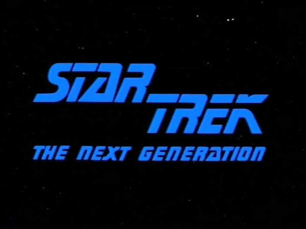 Star Trek The Next Generation Screen Title Wallpaper 1024x768