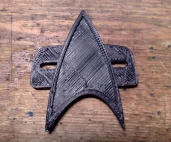 Star Trek Voyager Badge Wallpaper