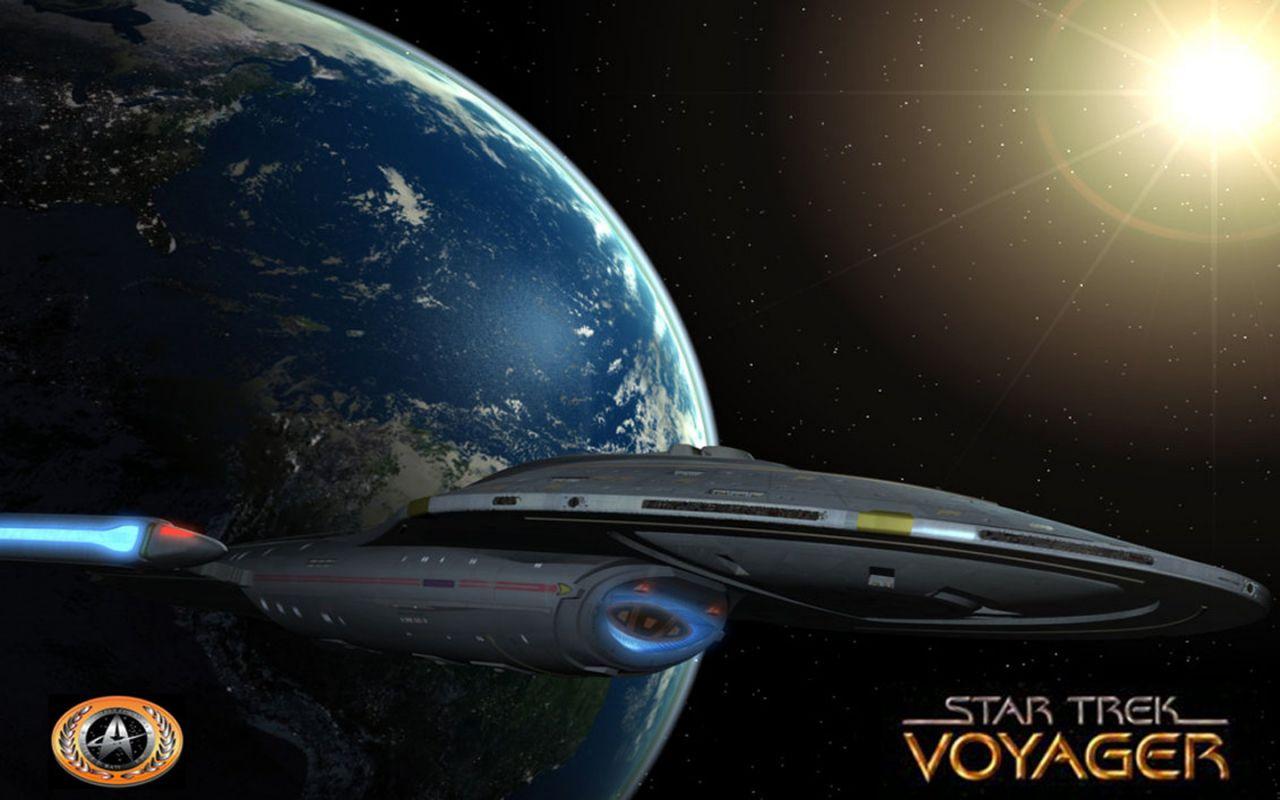 Star Trek Voyager Wallpaper 1280x800