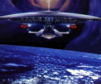 The Enterprise Front Wallpaper