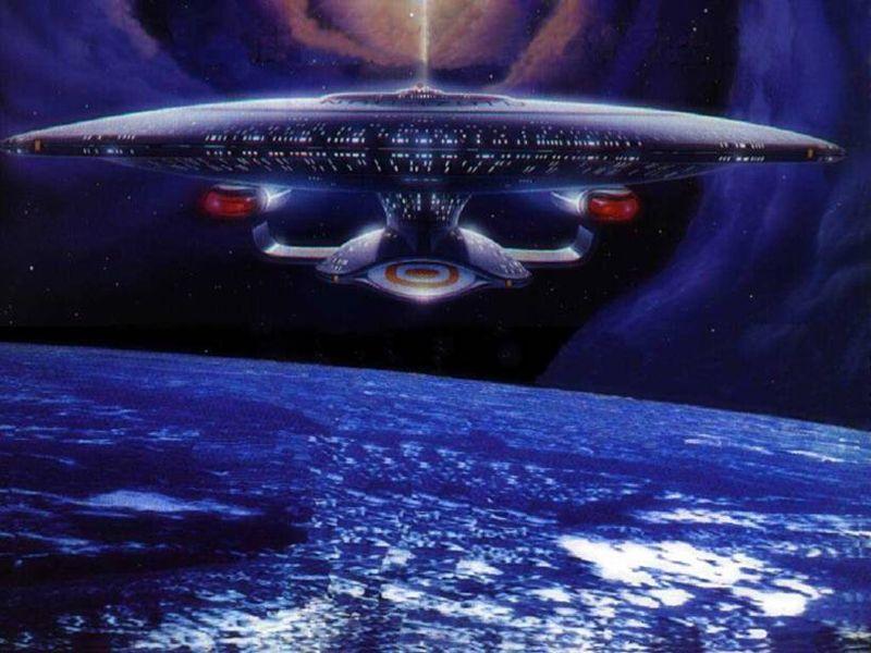The Enterprise Front Wallpaper 800x600